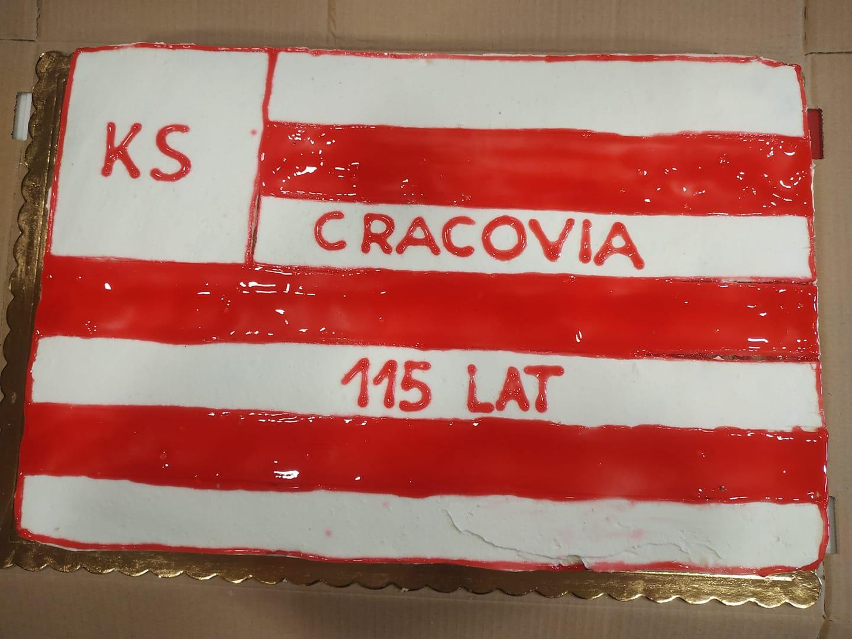 Tort 115 lat Cracovii